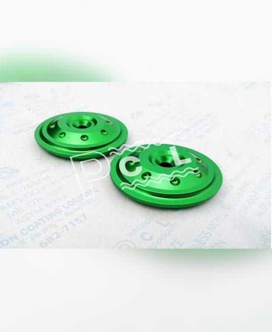 บริการรับชุบผิวอโนไดซ์สีเขียว
