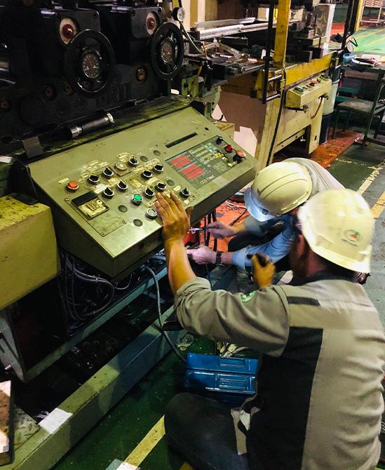 งาน Overhaul ระบบไฟฟ้าเครื่อง Feeder