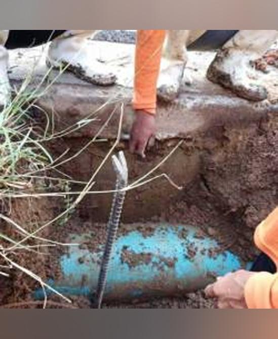 งานโครงสร้างและระบบท่อระบายน้ำ