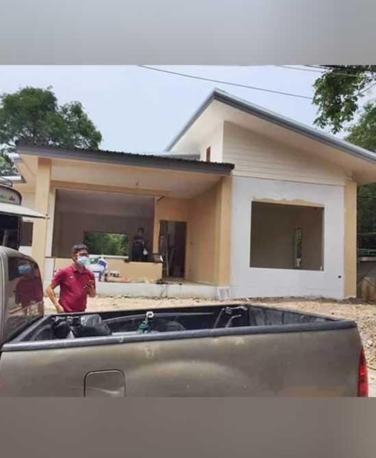 รับก่อสร้างบ้านเดี่ยวชั้นเดียว