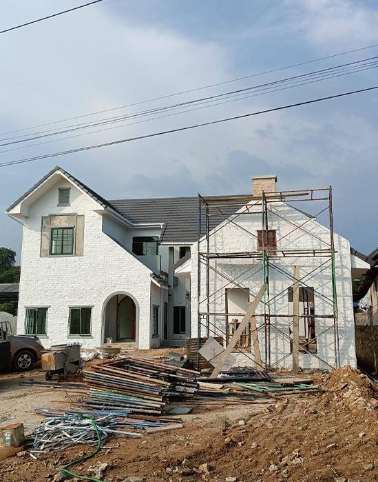 รับก่อสร้างบ้านพักอาศัย