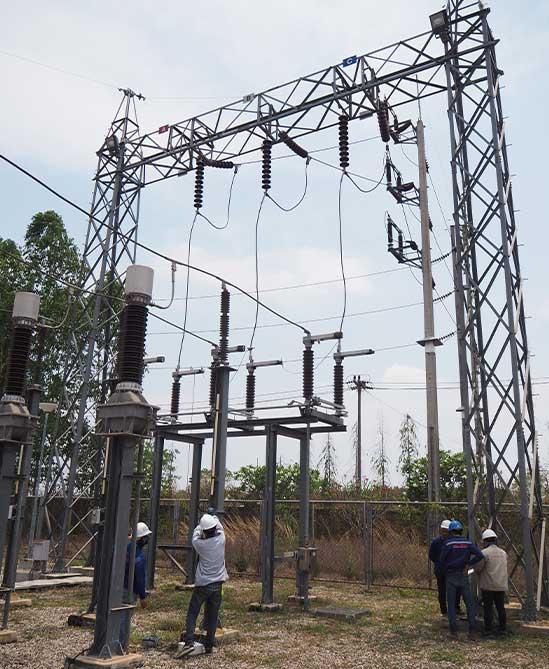PM Substation 115 kv