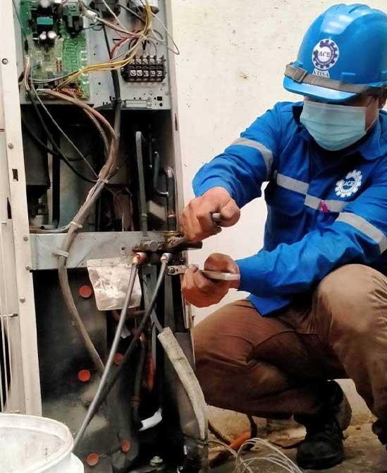 บริการซ่อมเครื่องปรับอากาศทุกชนิด