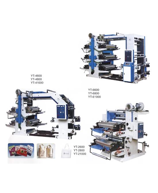 เครื่องพิมพ์ระบบ Flexographic รุ่น YT