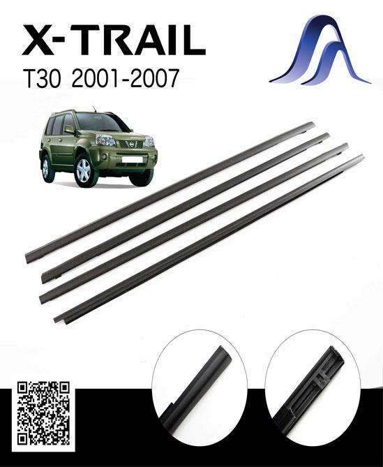 ชุดยางรีดน้ำนอก สำหรับรถ Nissan X-TRAIL T30 2001-2008 ทั้งคันรถ